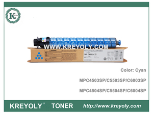 Ricoh Color Toner Cartridge MPC4503 MPC4504 MPC5503 MPC5504 MPC6003 MPC6004