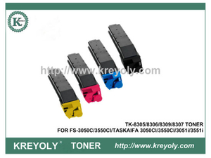 TK-8305/8306/8309/8307 COLOR TONER CARTRIDGE FOR Kyocera TASKALFA 3050CI 3550CI 3051ci 3551ci