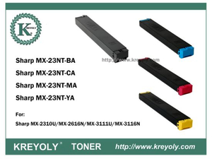 Cost-Saving Compatible Sharp MX-23 Color Toner Cartridge