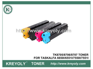 TK-8705 COLOR TONER FOR TASKALFA 6650I 6551I 7550I 7551I