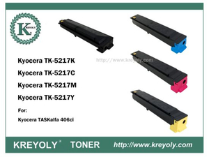 TK5215/5216/5217/5218/5219 COLOR TONER CARTRIDGE FOR KYOCERA TASKALFA 406CI