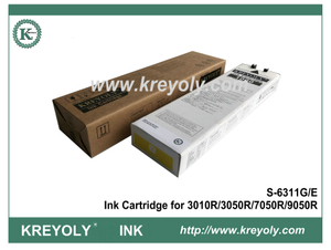 Yellow S-6311 Ink Cartridge for Riso ComColor 3010R 3050R 7050R 9050R