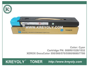 Toner Cartridge Xerox DocuColor 550 560 570 5580 6680 7780 Printer 006R01525 006R01528 006R01527 006R01526