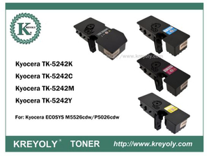 TK5240/5241/5242/5243/5244 COLOR TONER CARTRIDGE FOR KYOCERA ECOSYS M5526CDW P5026CDW P5026