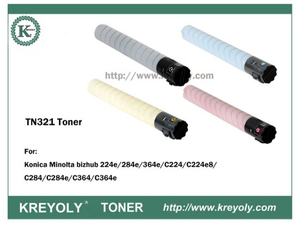 TN321 TONER CARTRIDGE FOR KONICA MINOLTA Bizhub C224 C284 C364 C360 C220 C280
