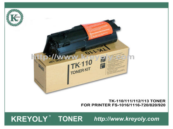 TK-110/111/112/113 TONER CARTRIDGE FOR KYOCERA PRINTER FS-1016 FS1116 FS720 FS820 FS920