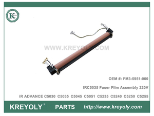FM3-5951-000 Fixing Film Assembly 220V for CANON iR ADVANCE C5030 C5035 C5045 C5051 C5235 C5240 C5250 C5255