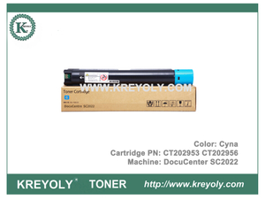 Xerox DocuCenter SC2022 Toner Cartridge CT202952 CT202953 CT202954 CT202955