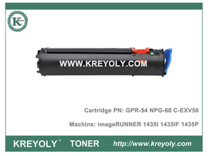 Canon Toner Cartridge GPR54 C-EXV50 NPG68 Toner for IR1435