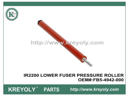 Cost-Saving Compatible Canon IR2200 Lower Fuser Pressure Roller FB5-4942-000