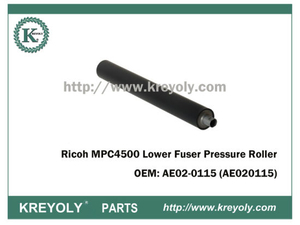 Cost-Saving Ricoh MPC4500 AE02-0115 Lower Fuser Pressure Roller