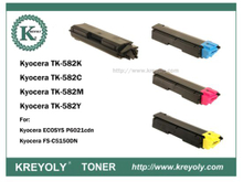 TK-580/582/583/584 COLOR TONER CARTRIDGE FOR FS-C5150DN C5205DN C5105DN P6021cdn