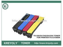 TK-540/541/542/543/544 Color Toner Cartridge for Kyocera PRINTER FS-C5100DN