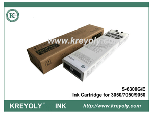 Riso S-6300 Black Ink Cartridge for ComColor 3050 7050 9050 Inkjet Machine