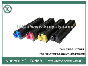 TK-510/512/514 Color Toner Cartridge for FS-C5020N C5025N C5030N