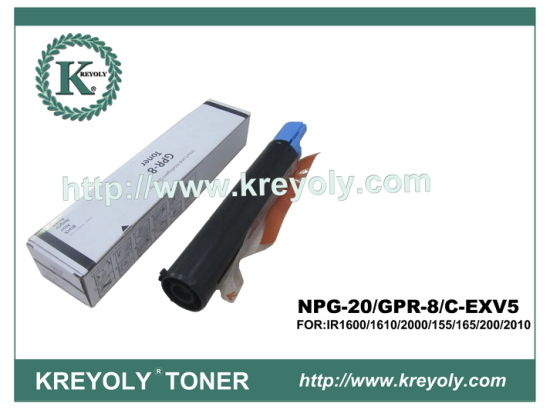 Compatible/ New GPR-8/NPG 20/C-EXV 5 Toner Cartridge for IR1600 1610 2000