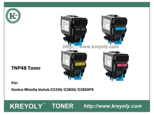 TNP48 TONER CARTRIDGE FOR KONICA MINOLTA Bizhub C3350 2850