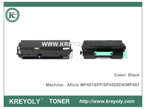Compatible Toner Cartridge For Ricoh Aficio MP401SPF SP4520DN MP401