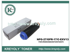 Black Toner Cartridge for Canon GPR-17/NPG 27/C-EXV 13