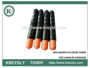 Compatible Color Toner Cartridge GPR-31/NPG-46/C-EXV 29