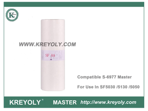 S-6977 Compatible SF A4 master for use in Riso duplicator SF5030 SF5130 SF5050