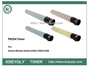 TN324 TONER CARTRIDGE FOR KONICA MINOLTA Bizhub C258 C308 C368