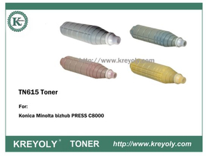 TN615 TONER CARTRIDGE FOR KONICA MINOLTA Bizhub Press C8000