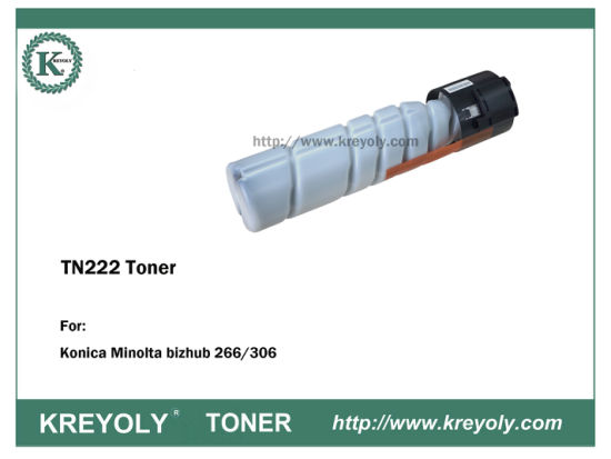 KONICA MINOLTA TN222 TONER CARTRIDGE FOR Bizhub 266 306