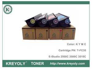 Toner TFC35 For Toshiba T-FC35 E-Studio 2500C 3500C 3510C Toner Cartridge
