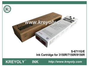 S-6711 Magenta Ink Cartridge for Riso ComColor 3150R 7150R 9150R InkJet Machine