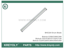 BHC224 Drum Cleaning Blade for Konica Minolta Bizhub C284 C454 C221 C258 7122