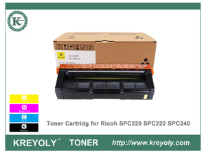 Ricoh SPC220 Color Toner Cartridge for SPC220 SPC222 SPC240