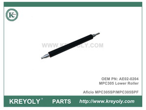 AE02-0204 MPC305 Lower Sleeved Roller Ricoh Aficio MPC305SP MPC305SPF